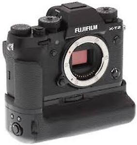 Fujifilm X-T2 and Vertical power Grip For Sale
