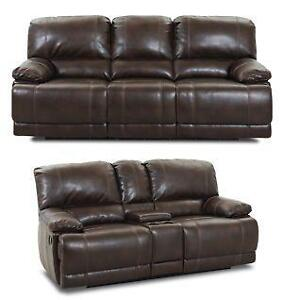 Awesome Leather Reclining Sofa Sets
