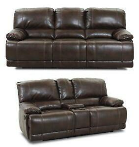 Leather Reclining Sofa Set  sc 1 st  eBay & Leather Reclining Sofa | eBay islam-shia.org