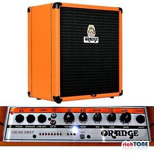 Orange Crush 50BXT Watt Bass Guitar Combo with Tuner