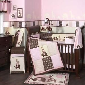 Lambs and Ivy Infant Bedding Set & Mobile