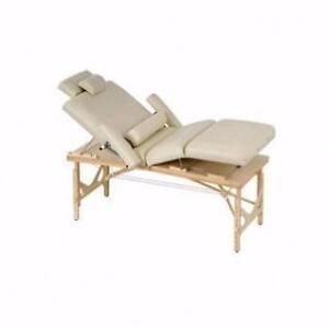 NOUVEAU table de massage multi sections portable esthétique podologie