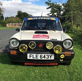 Autobianchi A112 Abarth Trofeo (Trophy)Tribute can be used as a normal Road Car or as a and Race Car