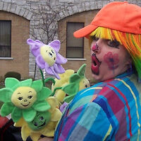 Star Giggles the Funny Clown now available for Birthday Parties!