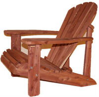 Eastern red cedar(Aromatic) adirondack chair kit