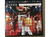 Queen Live magic vinyl