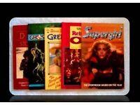 RETRO STORYBOOKS BASED ON FILMS - 5 TITLES - FOR SALE