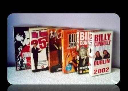 COMEDY VHS TAPES - BILLY CONNOLLY - (6) - FOR SALE | in Southside, Glasgow  | Gumtree