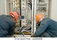 WORK WANTED ELECTRICIANS HELPER