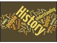 History Tutor - Glasgow, North Lanarkshire and South Lanarkshire