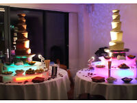 Chocolate fountion from £99.00 candy floss and popcorn machine, sweet cart