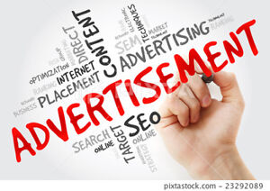 advertising sevices available, we lead the right customer to u