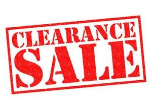 Up to 70% off Clearance Items!