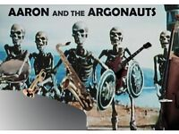 LIVE MUSIC FROM AARON AND THE ARGONAUTS IN HACKNEY WICK