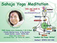 Free Meditation & Yoga Covent Garden
