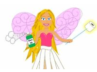 The eco-cleaning fairy