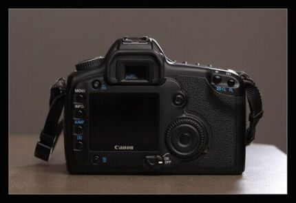Canon full frame camera with 4 batteries and cf card Campbelltown Campbelltown Area Preview