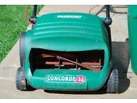 Quelcast concorde 32 electric cylinder blade mower