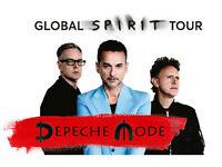 Depeche Mode at London Stadium 3rd June. 2 Standing tickets