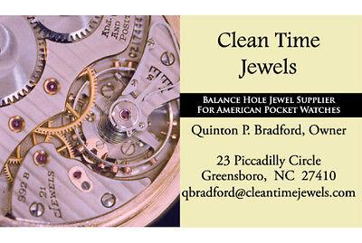 American Pocket Watch Jewels