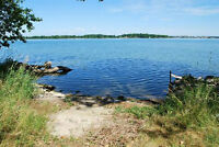 ***Beautiful Treed, Waterfront Lot on The St. Lawrence River***