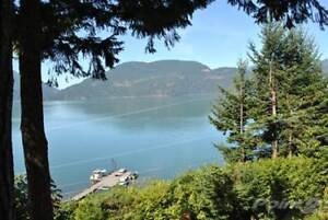 Harrison Lake View Home on 0.5 Acre Lot