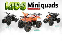 Quality kids quads/ reverse and electric start -free delivery