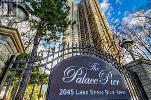 Waterfront Condo, 2 Br, 2 Wr, 2045 LAKE SHORE Boulevard West