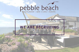 PEBBLE BEACH RESTAURANT ARE LOOKING FOR FULL & PART TIME WAITING STAFF