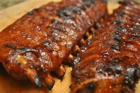 BABY BACK RIBS MARINATED, SLOW COOKED ,CREEKSIDE BAR & GRILL SW