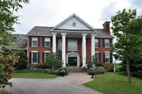 **On 27 Acres*Luxurious* * Pool Or Play A Game Of Tennis*Caledon
