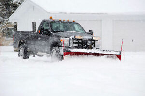 Pickup Truck with Plow for Rent