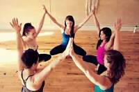 Music for free unlimited yoga at the Studio Bliss