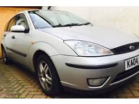 2004 Ford Focus with long mot