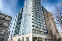 Brand New One Bedroom + Den at 210 Simcoe St for lease.