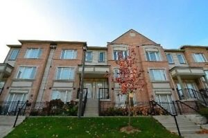 3 Bedrooms Condo Townhouse Home in Mississauga