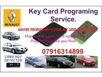 Renault Magane Key Card Programming Service