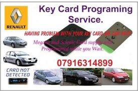 Renault Key Card Programming Service
