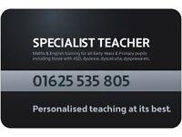 ADHD SPECIALIST TEACHER - ENGLISH & MATHS