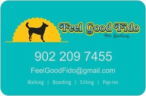 Pet Care, Dog Walking, Boarding, Sitting, and Pop-ins