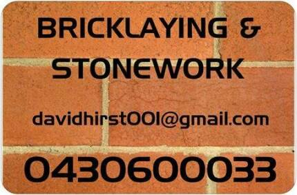 BRICKLAYING & STONEWORK Ellenbrook Swan Area Preview
