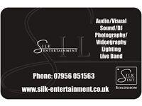Silk entertainment PA sound/sound engineer, DJ & lighting