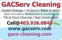 Accepting:Office Cleaning & Janitorial Contract 403.926.0845