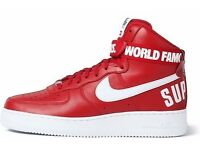 Nike Air Force 1 SP 'Supreme' Size UK 10 Brand New