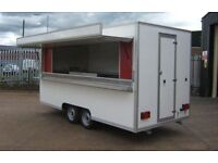 Wanted Burger Van / Catering Trailer