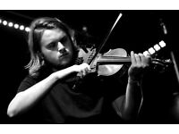 Pro Violinist / Folk Fiddle player / Viola Available for Performances and Recording
