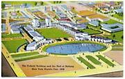 1939 Worlds Fair Postcard