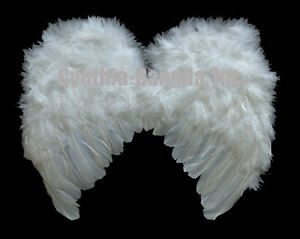 Small-Snow-White-Feather-Angel-fashion-wings-costume-for-2-12-yrs-boy-girl-WM2S