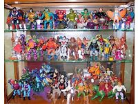 WANTED 80s/90s Toys He-man, Ninja Turtles, Transformers, Ghostbusters etc