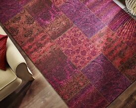 Simply Stunning Patchwork Chenille Rug, 120 x 170 £28.99 Beautiful Colours
